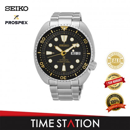 Seiko Prospex Automatic Turtle Air Diver Men's Watch SRP775K1