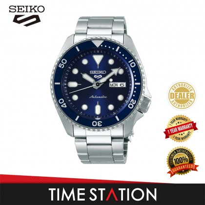 【Time Station】SEIKO 5 SPORTS AUTOMATIC SRPD51K1/SRPD53K1/SRPD55K1/SRPD57K1/SRPD59K1 STAINLESS STEEL MEN'S WATCH