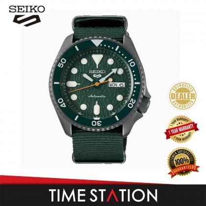 【Time Station】SEIKO 5 SPORTS AUTOMATIC SRPD51K2/SRPD53K3/SRPD77K1/SRPD85K1 NYLON MEN'S WATCH
