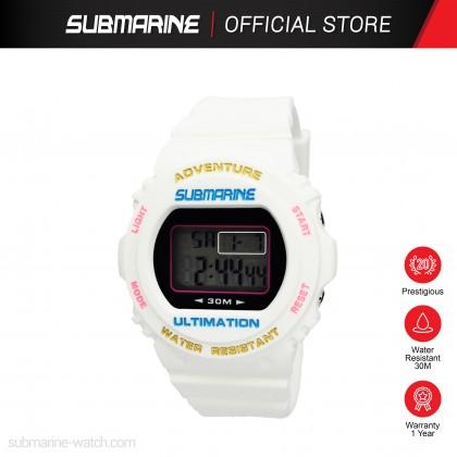 SUBMARINE Women Kids LED Display Digital Sports Watch Jam Tangan Perempuan TP-1514-L-PS